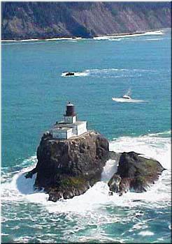 Lighthouses In Oregon Map.Lighthouses On The Oregon Coast